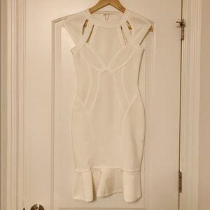 Dresses & Skirts - White Bandage Dress Size Small Brand New